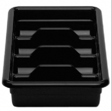 Black Plastic Regal Cutlery Box 11 1120CBR110