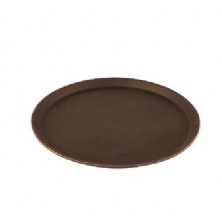 Round Nonskid Treadlite Fiberglass Serving Tray
