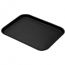 Black Non-Skid Serving Tray 1418CT110