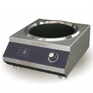 Induction wok hob 5 kW, tabletop 2151XN