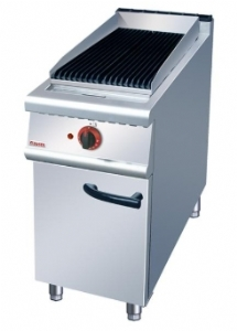 Gas fire barbecue grill with cabinet ZH-RHA