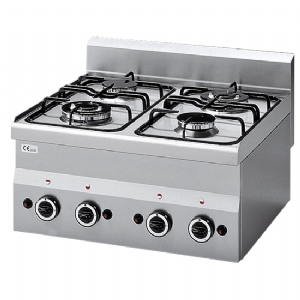 gas hob, 4 burners 6060PCG