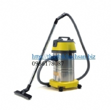 30L WET & DRY VACUUM CLEANER (S.S. tank) (220V 1000W) with Italy motor CH30N