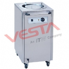 Electric Plate Warmer Cart(1-Holder) DR-1