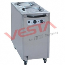 Electric Plate Warmer Cart(2-Holder) DR-2
