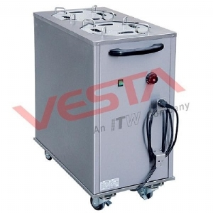 Electric Plate Warmer Cart(2-Holder) DRN-2