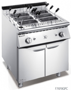 700 Series Gas Pasta Cooker With Cabinet F7070GPC
