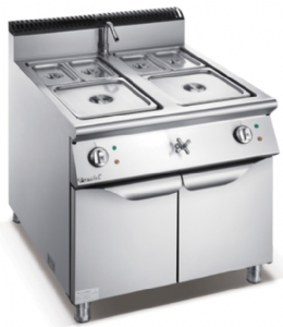 900 Series Electric Bain Marie With Cabinet F9080EBM