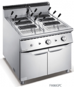 900 Series Gas Pasta Cooker With Cabinet F9080GPC