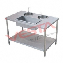 Manual Wrapping Powder Table