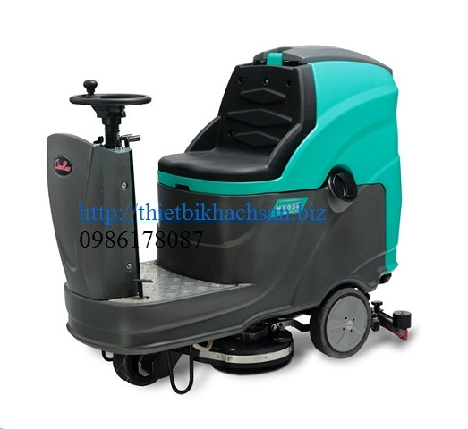 MÁY CHÀ SÀN,  RIDE-ON SCRUBBER DRYER  HY65B