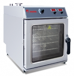 Four-layer electronic version of the universal steaming oven JO-E-E43S