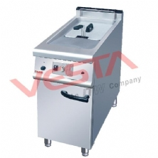 Gas 1-Tank Fryer (1-Baslet)With Cabinet