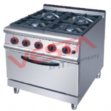 Gas Range With 4-Burner Gas Oven