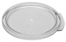 Transparent round food box cover