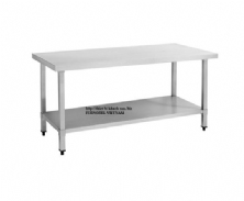 SS304 Work Bench With Under Shelf(Square Leg)