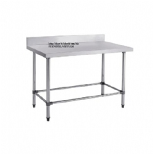 SS304 Work Bench With Splashback