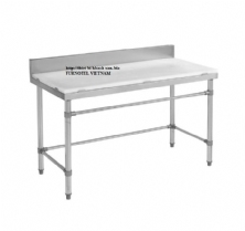 SS304 Preparation Bench With Cutting Board