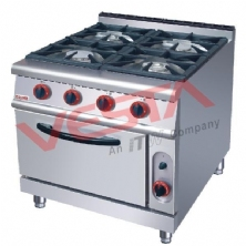 Four-head gas stove with furnace US-RQ-4