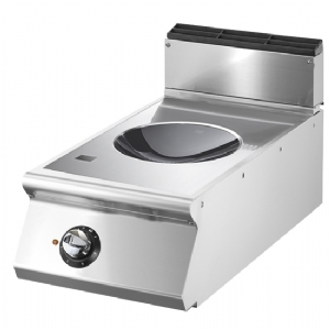 Induction wok, top version, 1 cooking zone 5 kW VS7040INDWT