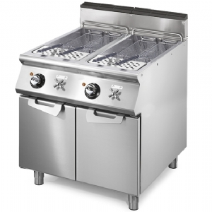 Electric pasta cooker, 2 GN 2/3 wells, capacity 2x 26 litres, fixed heating elements VS7080CPES