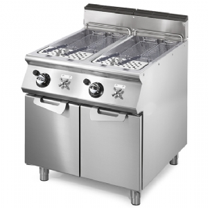 Gas pasta cooker, 2 GN 2/3 wells, capacity 2x 26 litres VS7080CPGS