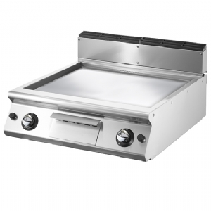 Gas griddle, top version, smooth chromed plate VS7080FTGVCRT