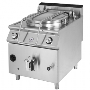Gas boiling pan, indirect heating, capacity 50 litres VS7080PGI50