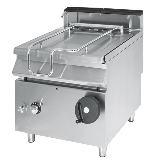Electric tilting bratt pan, capacity 120 litres, stainless steel well VS90120BREI