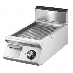 Electric griddle, top version, ribbed plate VS9040FTREVT