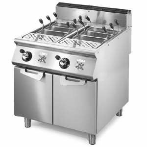 Gas pasta cooker, 2 GN 1/1 wells, capacity 2x 40 litres VS9080CPGS