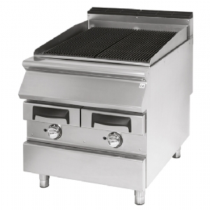 Gas grill, cooking zone in cast iron, meat/fish VS9080GRACQG