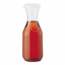 Beverage Decanter, Clear, Plastic - 1 L