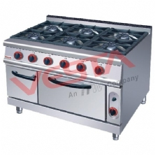 Gas Range With 6-Burne Gas Oven ZH-RQ-6