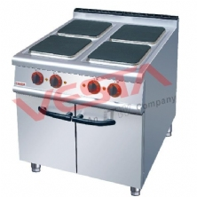 Electric 4 Hot-Plate Cooker With Cabinet ZH-TE-4A