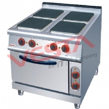 Electric 4 Hot-Plate Cooker With Oven ZH-TT-4A
